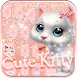 Cute kitty Keyboard Theme by Fly Liability Themes