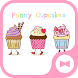 Wallpaper Funny Cupcakes Theme by +HOME by Ateam
