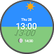 Sun & Moon Position Watch Face by Dai Nippon Printing Co., Ltd.