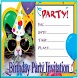 Birthday Party Invitation by luckyndroid