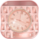 Diamond Rose Gold Watch Theme for Keyboard by NeoStorm We Heart it Studio