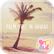 Palm Tree in Hawaii Theme by +HOME by Ateam