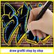 Draw Grafiti Step by Step by sumberurip