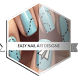 Easy Nail Art Designs by Ghaztee Apps