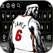LeBron James Keyboard Themes by Sam smart Dev