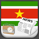 Suriname Radio News by Greatest Andro Apps