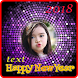 New Year 2018 Photo Frame _ New Year frame by Photo frame intira