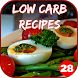 350+ Low Carb Recipes by 28Apps Company