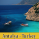 Antalya Offline Tourist Maps by MAP BAZAAR