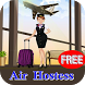 Dress Air Hostess by AppGameFree