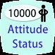 10000 Attitude Status Hindi by cementry