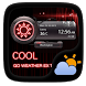 Cool GO Weather Widget Theme by GO Launcher EX