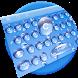 Blue Water Keyboard by Designer Superman