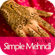 Simple Girls Mehndi Designs by TopUniqueApps