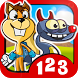 Monster Numbers: Math for kids by EducaGames. The best educational apps for kids