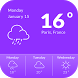 1Weather Forecast Widget by Applock Security