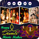 Diwali Photo Video Movie Maker by Video Maker Apps