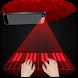 Piano hologram simulator prank by Nanny Games Store