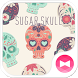 Sugar Skull Wallpaper by +HOME by Ateam