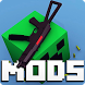 Guns Mods for Minecraft PE by Galaxy Mine apps