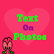 Love Text on Photo Grid Editor by OS Global