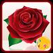 Valentine Love Rose Stickers by gamerZone