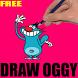 How To Draw Oggy by Lovepreet singh