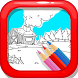 My Colorful Diary: Coloring Farms by BitByte Studios