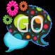 GO SMS THEME/ColorfulRetro by CPKDesigns