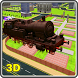 Flying Speed Train Driver by 3D Master