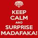 Surprise Madafaka Button - Botonera