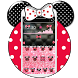 Minny Bow Glitter Theme by Launcher Fantasy