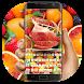 Apple Fruit Keyboard by Bestheme Keyboard Designer 3D &HD