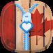 Canada Flag Zipper Lock Screen by SOLITUDE