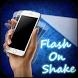 Flash On Shake by creativeappsworld