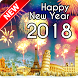 Happy New Year 2018 Wallpaper by Pinza