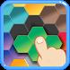 Hexagon Six! Blocks Puzzle by F. Permadi