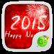 Happy New Year Keyboard Theme by GO Keyboard Dev Team