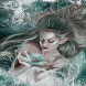 Magic Wave Girl LWP by Daksh Apps