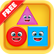 Shapes Puzzles for Kids by EDUBUZZKIDS