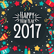 New Year Photo Frame 2017 by rocketappzstudio