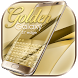 Golden Theme for Galaxy Samsung S7 Edge by The Best Android Themes