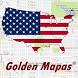 Denver Map by Golden Mapas