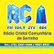 Rádio Cristal FM by Hélio Tecnologias