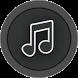 Music Player Balck by Div's Infotuch