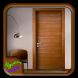 Modern Interior Wooden Door by Syclonapps