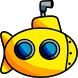 Crazy Submarine: Underwater Endless Survival Taps by Magicware
