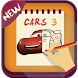 How To Draw Cars 3 (2017) by iDev-New : Drawing Apps