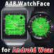 A48 WatchFace for Android Wear by Smartwatch Bureaux