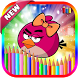Coloring Book For Angry Birds Games
